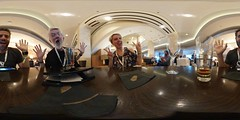 360 Selfie with Jeff Jarvis at Vidcon 2016