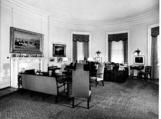 President Harry S. Truman's Study, 07/1948