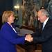 Presidenta Bachelet, La Moneda , Bitar presidente PPD, 2006