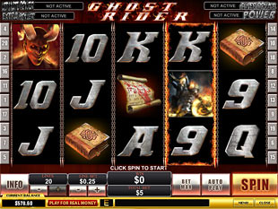 Ghost Rider slot game online review