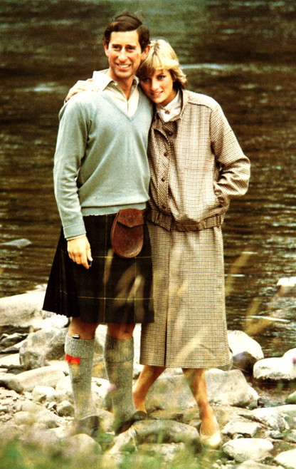 1981 Charles and Diana's honeymoon in Balmoral, Scotland in 1981.7