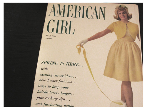 Cover of the March 1963 Issue of American Girl