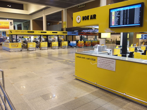 Nok Air Don Muang Airport Meuang DMK Bangkok Thailand Travel