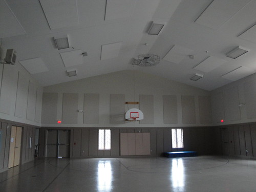 Finland Community Center's gymnasium