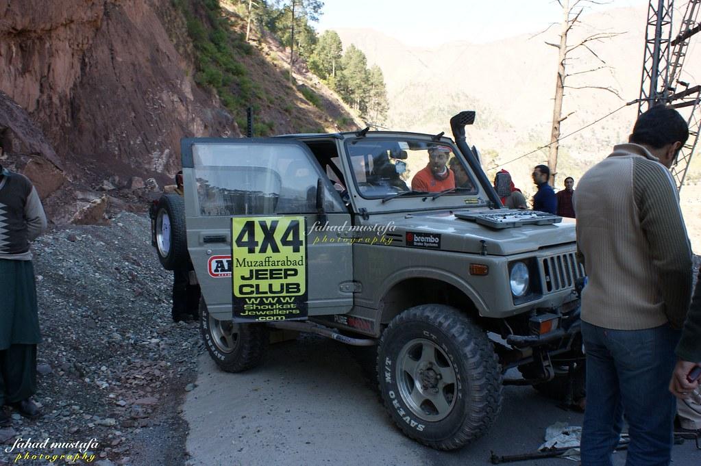 Muzaffarabad Jeep Club Neelum Snow Cross - 8469360772 825cab4043 b