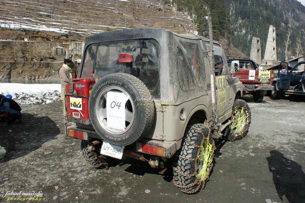 Muzaffarabad Jeep Club Neelum Snow Cross - 8470732179 a85ca4f364 b