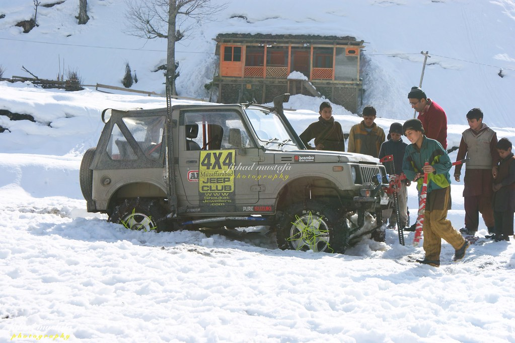 Muzaffarabad Jeep Club Neelum Snow Cross - 8472084412 01c0d83a94 b