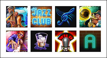 free The Jazz Club slot game symbols