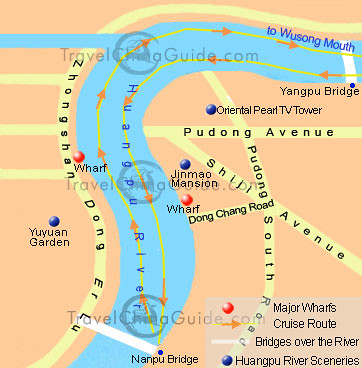 huangpuriver-cruise-map