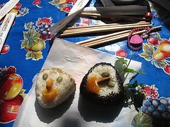 Common Grains posted a photo:	Onigiri Workshop Samples | Feb 9, 2013