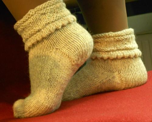 Пара 12, Vogue носки с манжетой пико и выворотом