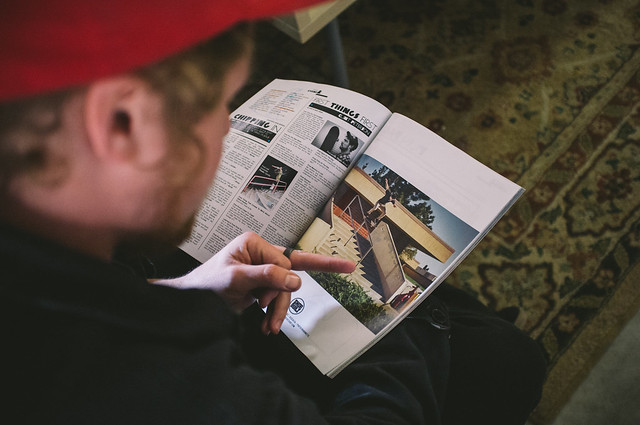 Checkin' out the new Skateboard Mag Active Ad with Billy Marks