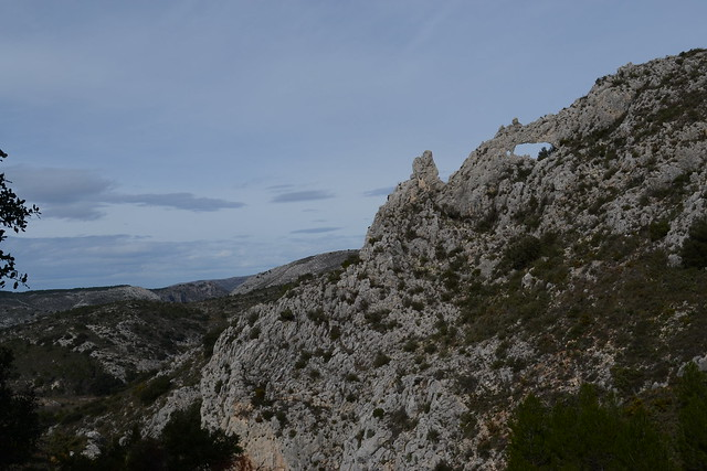 005 - Vistas ruta els arcs castell de castells