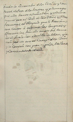 007- Continuacion texto cuarta fiesta-Códice Veitia- Biblioteca Virtual Miguel de Cervantes
