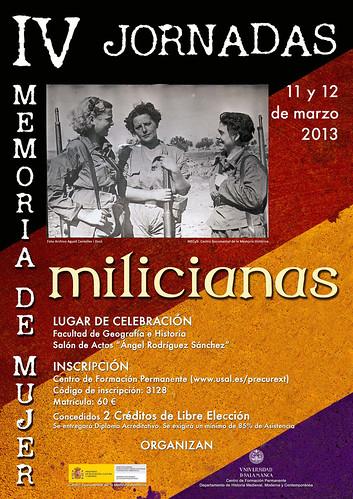 Salamanca, marzo de 2013, IV Jornadas de mujer, foto Agustí Centelles i Ossó. by Octavi Centelles