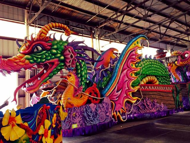 Float, Mardi Gras World, New Orleans