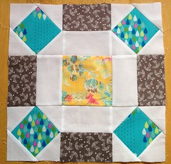 4x5 Modern Quilt Bee Blocks - Winter Round