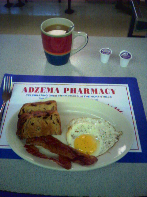 Breakaneuring #2, Adzema Pharmacy lunch counter