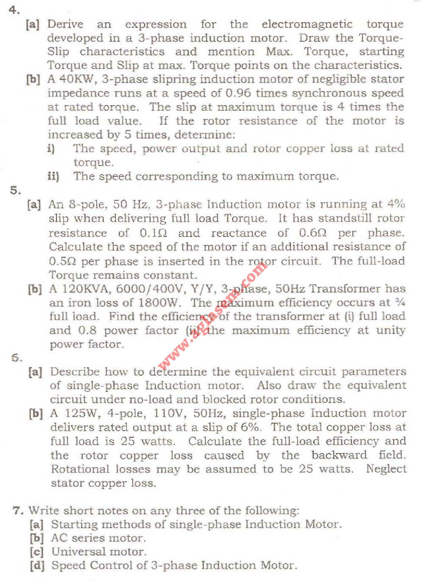 NSIT Question Papers 2008 – 3 Semester - End Sem - IC-203