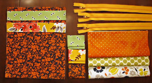 Orange Triple Zip Pouch Ingredients