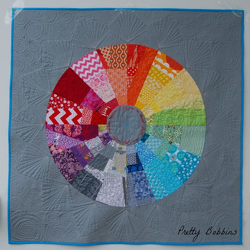 color wheel quilted 1