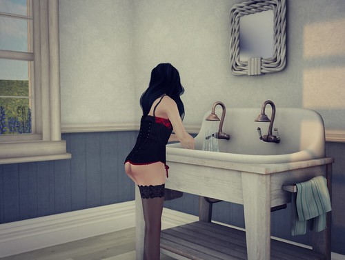 Trompe Loeil @ FaMESHed -  Sink & Mirror