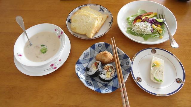 當季新鮮食材與家常烹調的手作早餐