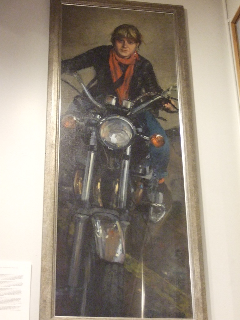 Jane Bond, Fran Maranzi, motorbike dispatch controller, 2000