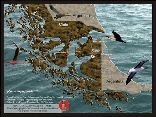 國王企鵝行程路線
