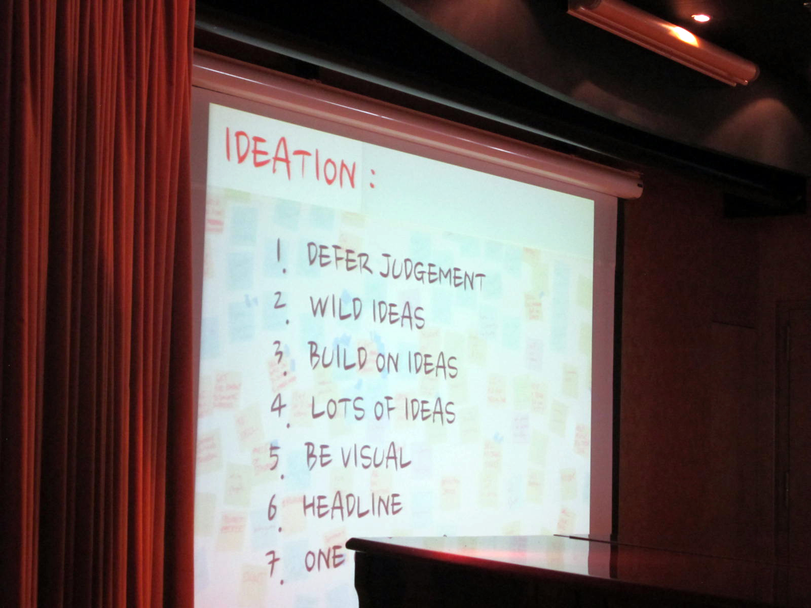 the rules of brainstorming