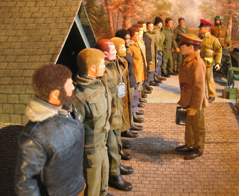 What does your Action Man, MAM, Joe, Modern Joe or 1/6 scale World look like.  8528446545_faa8c52e14_c