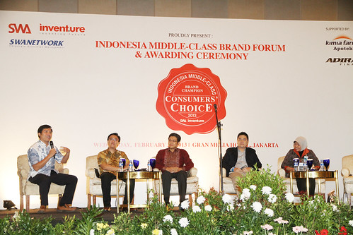 Indonesia Middle-Class Brand Forum 2013-Sharing Session