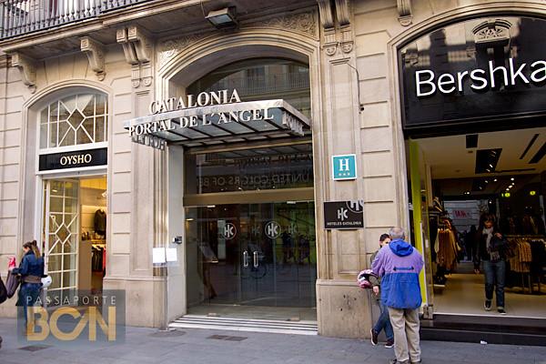 Hotel Catalonia Portal de l'Angel, Barcelona