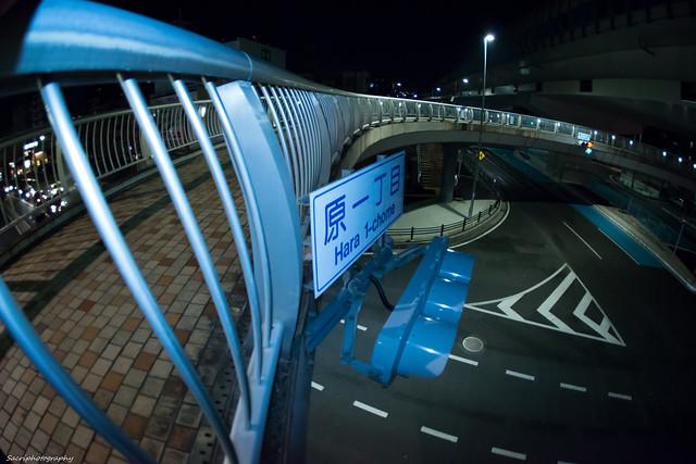 円形歩道橋 #08