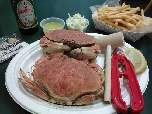 Jonah Crab Dinner