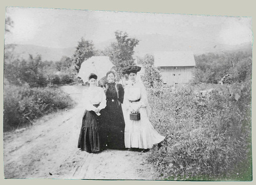 Three women in fashoin