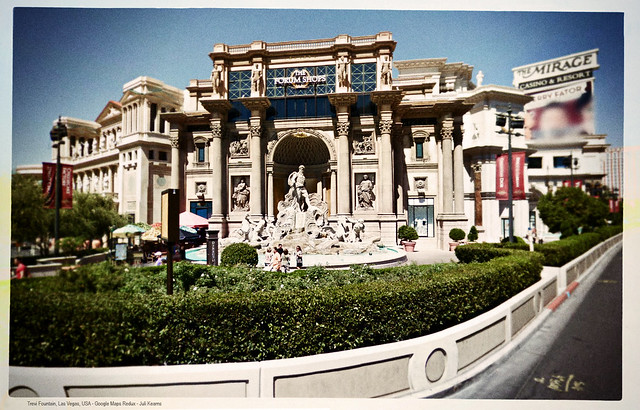 Trevi Fountain, Las Vegas - Google Maps Redux - Places and their Honorifics