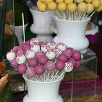 Colorful and Swirly Alice in Wonderland Cake Pops
