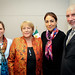UN Women Executive Director Michelle Bachelet meets with Cristina Pineda Covalina