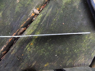 Re-forged flattened spatula shaft