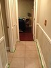 Hallway with new chair rail