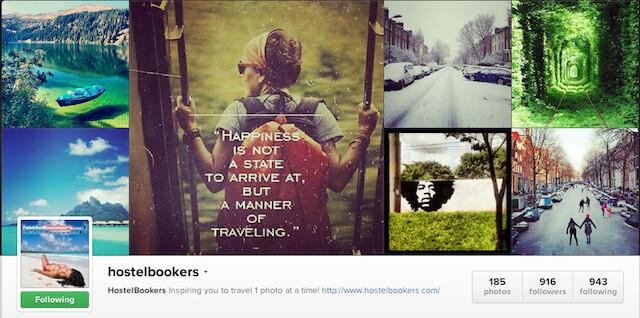 Hostelbookers Instagram