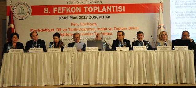 Fen Edebiyat Fakülteleri Dekanları Zonguldak'ta Toplandı