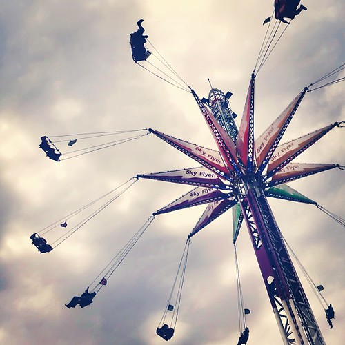 The #skyflyer at @rodeohouston #carnival #hlsr #reliant #rodeo #instagramhtx #rodeohouston #houston #2013