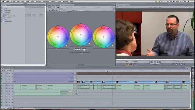 Final Cut Pro color correction