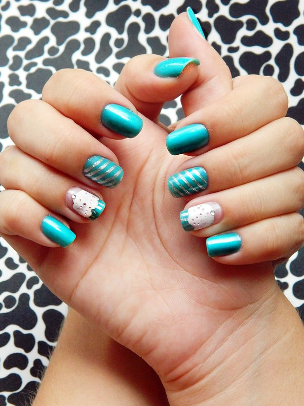 juliana leite blog post nail art cupcake bottons diy customizar 008