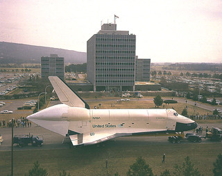 Archive: Shuttle Orbiter Enterprise Arrives at Marshall (NASA. Marshall, 3/13/78)