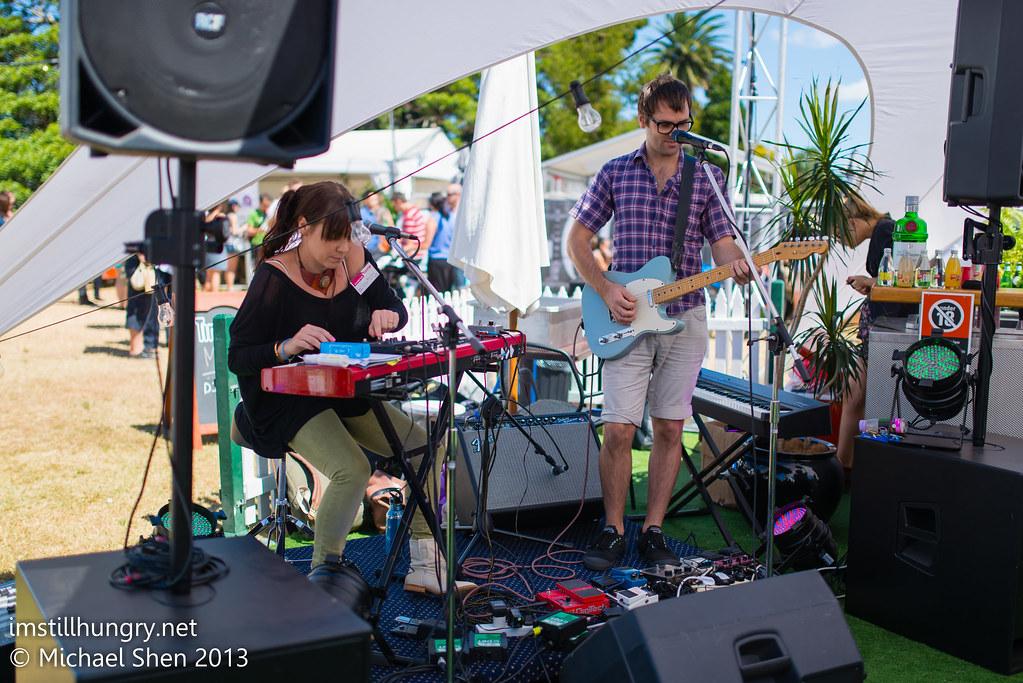 Taste of Sydney - live band