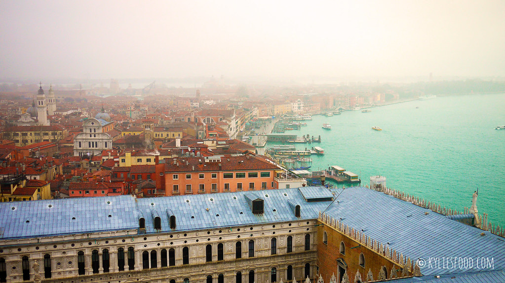 View of Venice from the Campanile