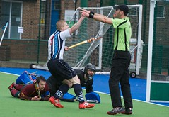 EHB Men's Cup Competition - Semi Final - Hampstead & Westminster HC v Cannock HC